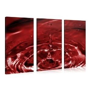 Tableau deco moderne toile art of water 130x80cm achat for Tableau pret a accrocher