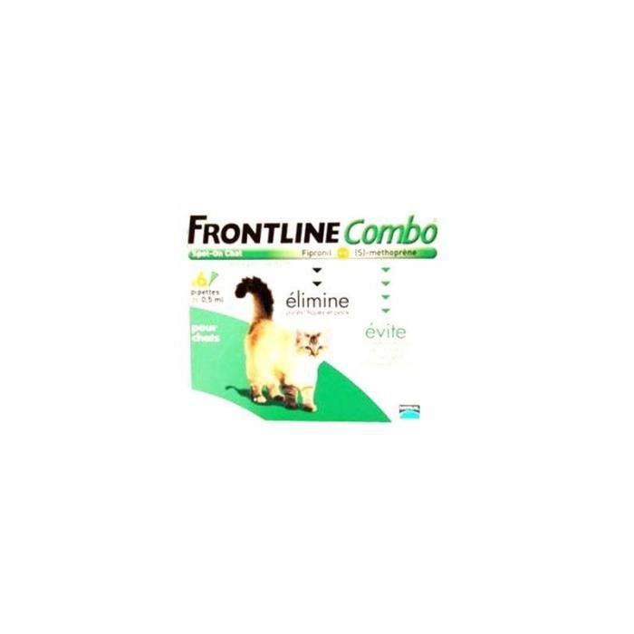 Frontline combo chat 6 pipettes achat vente - Frontline combo chat pas cher ...
