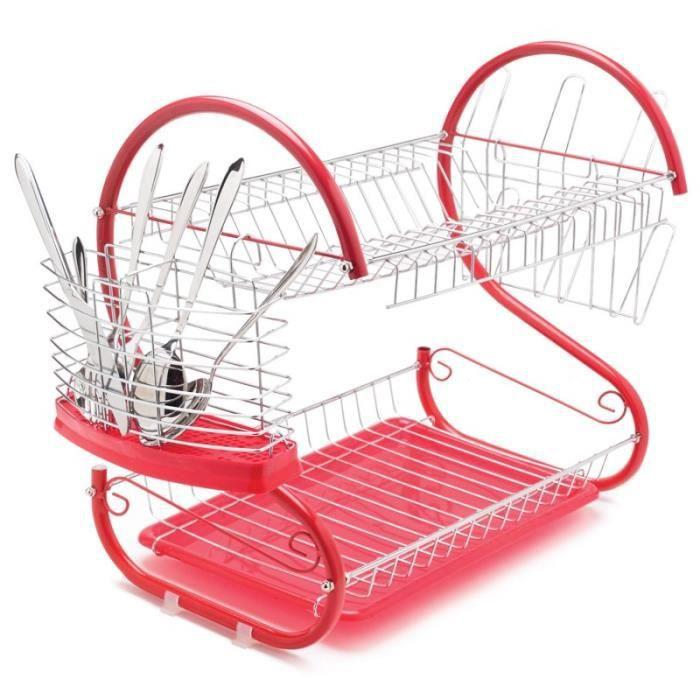 Egouttoir a vaisselle rouge achat vente egouttoir a vaisselle rouge pas c - Ensemble vaisselle pas cher ...
