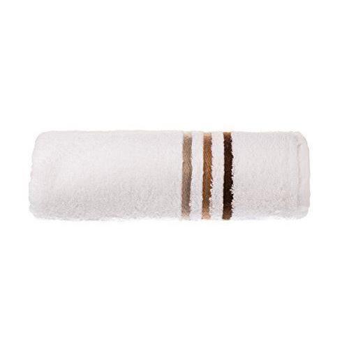 schiesser 101093 skyline serviette essuie main blanc rayures marron 50 x 100 cm achat vente. Black Bedroom Furniture Sets. Home Design Ideas
