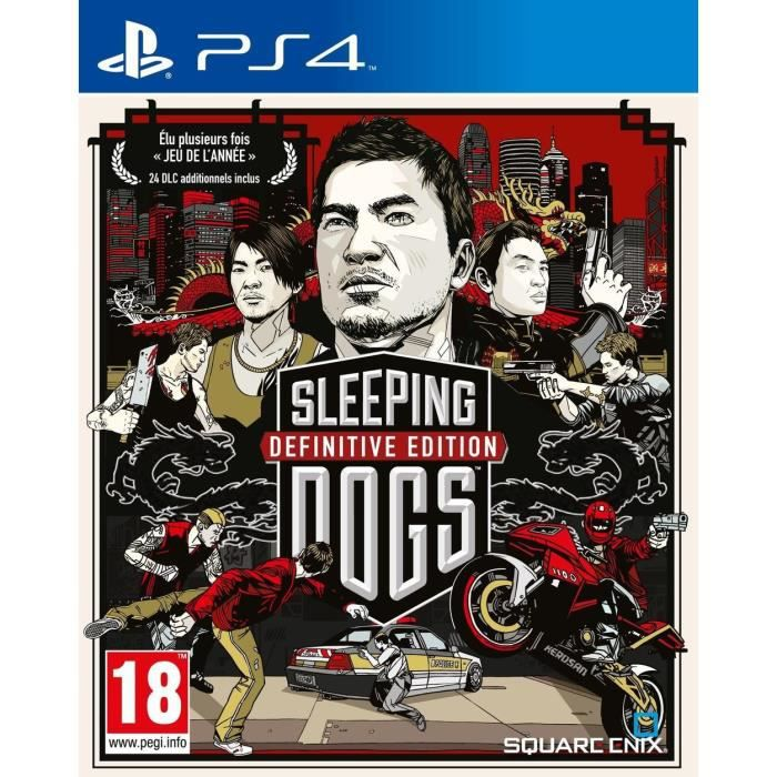 sleeping dogs definitive edition jeu ps4 achat vente jeu ps4 sleeping dogs definitive ed. Black Bedroom Furniture Sets. Home Design Ideas