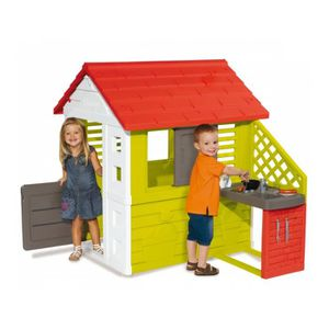 maison enfant smoby achat vente pas cher les soldes sur cdiscount cdiscount. Black Bedroom Furniture Sets. Home Design Ideas