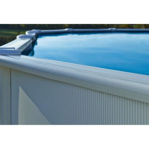 Piscine acier r sine hors sol achat vente piscine for Piscine acier grise