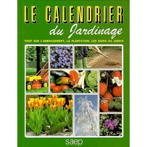 calendrier jardinage achat vente calendrier jardinage pas cher cdiscount. Black Bedroom Furniture Sets. Home Design Ideas