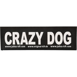 TRIXIE 2 Stickers Velcro Julius-K9 - S - Crazy dog - Pour chien