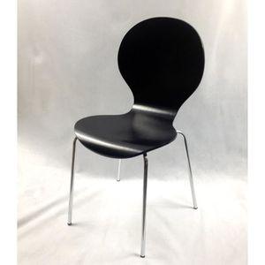 CHAISE Chaise, cuisine ou salle à manger, avec des lignes