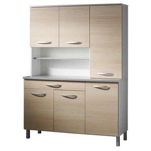 grand buffet de cuisine achat vente grand buffet de cuisine pas cher cdiscount. Black Bedroom Furniture Sets. Home Design Ideas