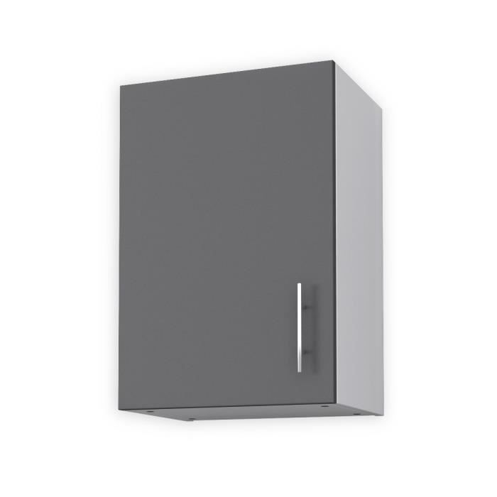 meuble de cuisine haut gris 40cm achat vente meuble de
