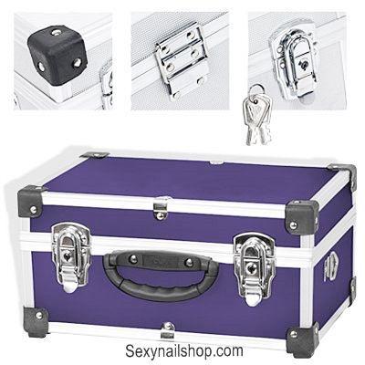Valise de rangement alu noir achat vente boite caisse a outil cdiscount - Rangement valise optimise ...