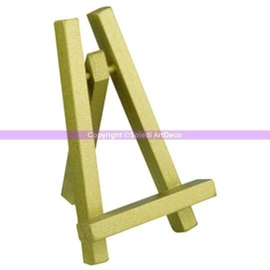 Chevalet de table en bois dor haut 10 cm achat vente marque place cdiscount Mini chevalet de table