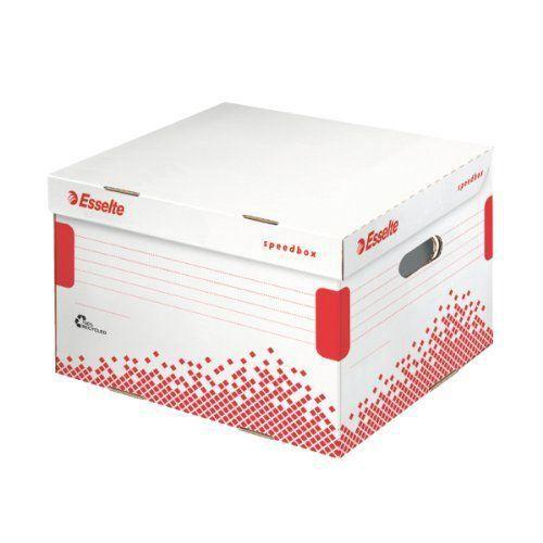 Esselte speedbox conteneur boite archive auto achat for Boite archive