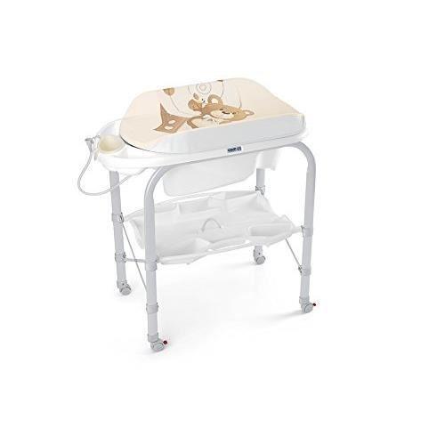 Table langer avec baignoire cam c219 achat vente table langer 8005549209022 les soldes - Berceau avec table a langer 2 ...