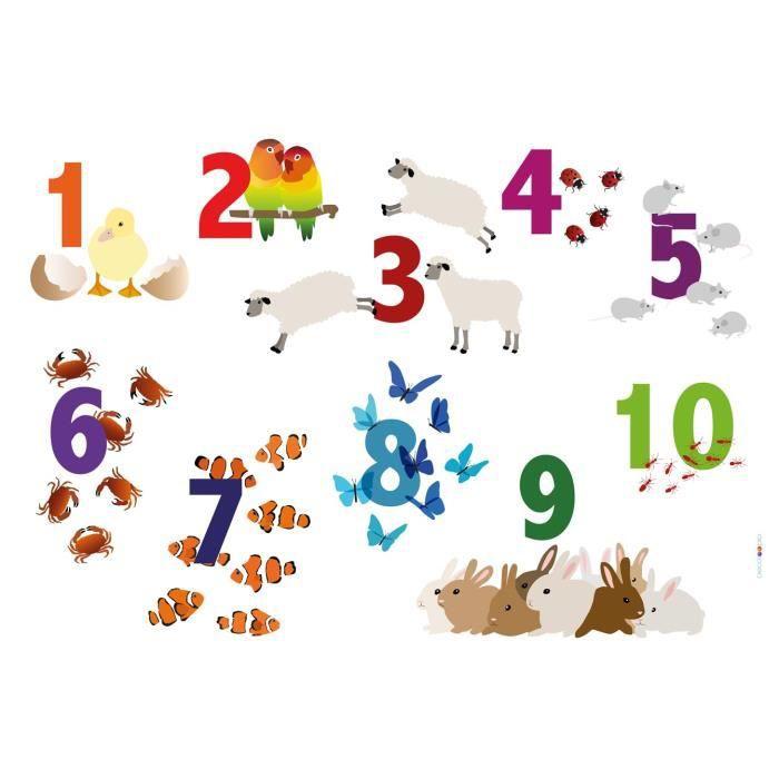 Set de table plastifi pour enfant chiffres achat - Set de table plastifie ...