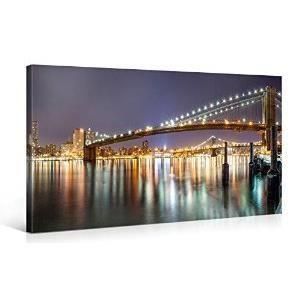 Tableau deco moderne new york brooklyn bridge at achat for Tableau moderne new york