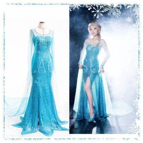 la mode des robes de france acheter robe reine des neiges. Black Bedroom Furniture Sets. Home Design Ideas