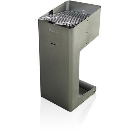 barbecue grill charbon modo q design gris achat vente barbecue barbecue grill charbon. Black Bedroom Furniture Sets. Home Design Ideas