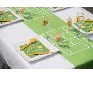 Decoration tennis achat vente decoration tennis pas for Chemin de table rennes