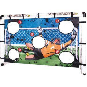 cage de foot avec cible achat vente pas cher cdiscount. Black Bedroom Furniture Sets. Home Design Ideas