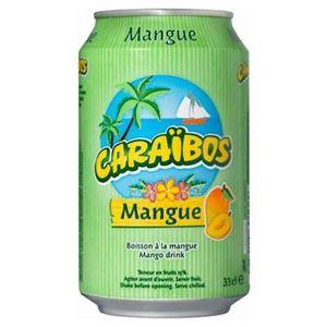 ASSORTIMENT 0% ALCOOL Caraïbos Mangue 33cl