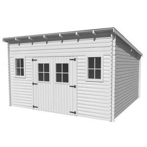 abri de jardin en bois une pente achat vente abri de jardin en bois une pente pas cher. Black Bedroom Furniture Sets. Home Design Ideas
