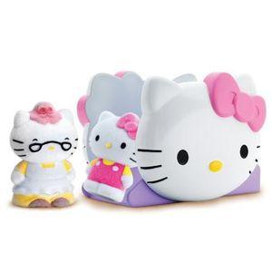 figurine personnage vellutata hello kitty mini toboggan agrs et