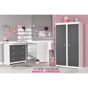 chambre bebe gris achat vente chambre bebe gris pas cher soldes cdiscount. Black Bedroom Furniture Sets. Home Design Ideas