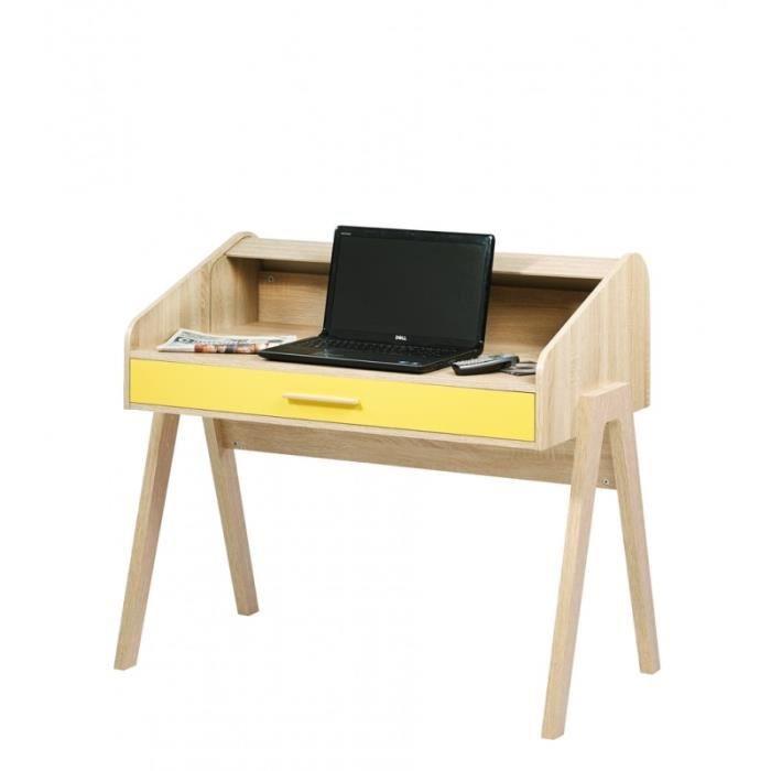bureau vintage rideau ch ne pieds chene tiroir couleur coloris des portes et tiroirs abeille. Black Bedroom Furniture Sets. Home Design Ideas