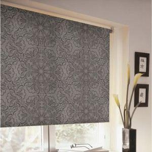 store de fen tre store enrouleur tamisant imprim arabesque choc. Black Bedroom Furniture Sets. Home Design Ideas