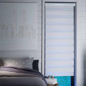 store enrouleur jour nuit blanc occultant achat vente store de fen tre tissu cdiscount. Black Bedroom Furniture Sets. Home Design Ideas
