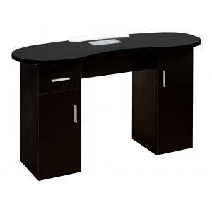 Table De Manucure Avec Aspirateur Coloris Noir Achat Vente Table De Manucure Table De