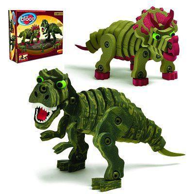 Jeu de construction bloco dino achat vente assemblage construction cdiscount - Jeux lego dino ...