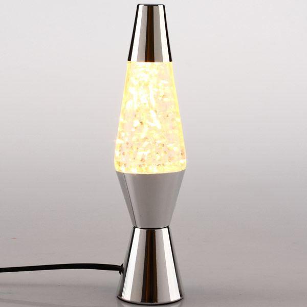 Lampe lave paillettes couleur gris achat vente for Lampe a lave maison