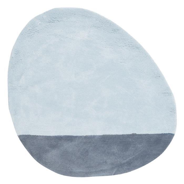 tapis enfant coton stone bleu ciel lilipinso chez tapis cosy nous avons pr sent la gamme. Black Bedroom Furniture Sets. Home Design Ideas