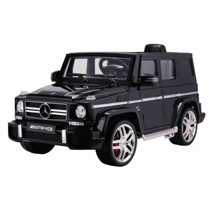mercedes g63 amg noir m tallis e voiture lectrique pour enfant 12v 2 moteurs achat vente. Black Bedroom Furniture Sets. Home Design Ideas
