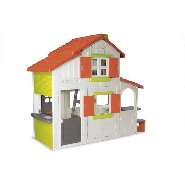 Smoby maison enfant duplex new achat vente maison jeux for Maison jouet exterieur