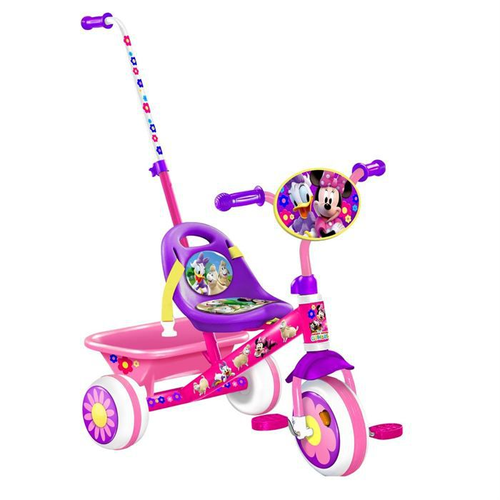 TRICYCLE Tricycle Minnie Canne + Baquet