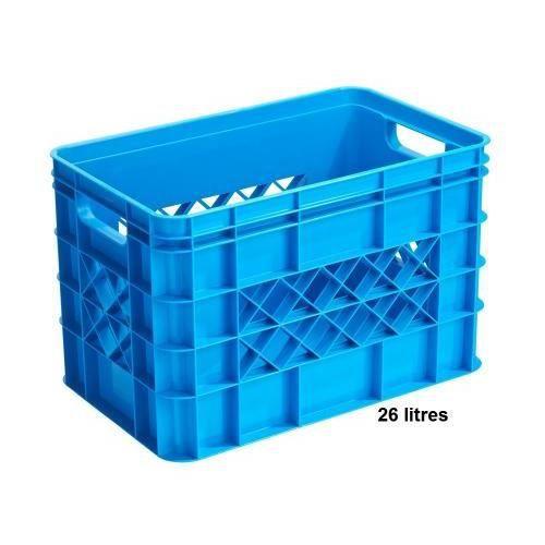 bac de rangement plastique ouvert couleur bleu 26l achat vente etabli meuble atelier. Black Bedroom Furniture Sets. Home Design Ideas