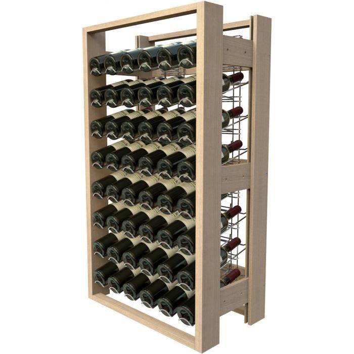 visiorack meuble de rangement en bois de 48 b achat vente meuble range bouteille. Black Bedroom Furniture Sets. Home Design Ideas