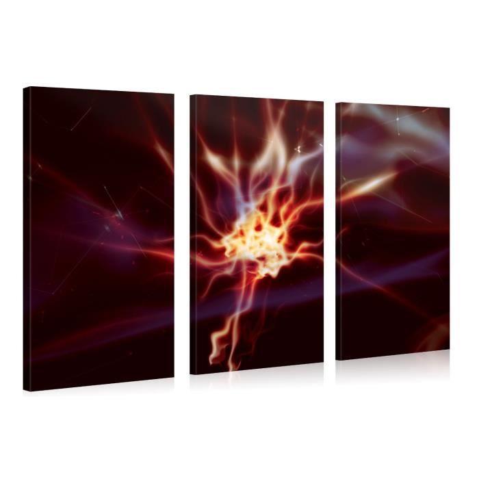 Tableau moderne imprim 130x80 abstrait achat vente for Tableau imprime sur verre
