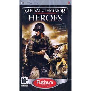 JEU PSP MEDAL OF HONOR HEROES / JEU CONSOLE PSP PLATINUM