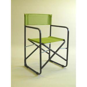 Fauteuil de metteur en scene achat vente fauteuil de for Chaise de realisateur