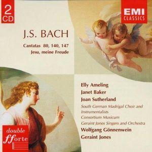CD MUSIQUE CLASSIQUE Cantatas Bwv 80, 140, 147