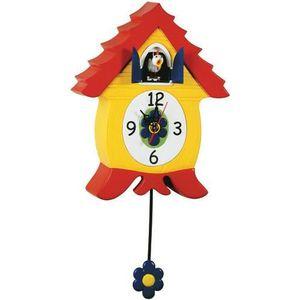 horloge poule achat vente horloge poule pas cher cdiscount. Black Bedroom Furniture Sets. Home Design Ideas