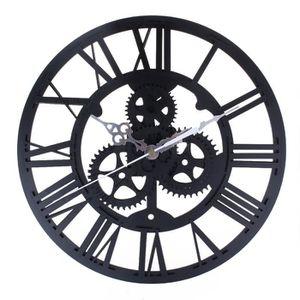 horloge engrenage achat vente horloge engrenage pas cher cdiscount. Black Bedroom Furniture Sets. Home Design Ideas
