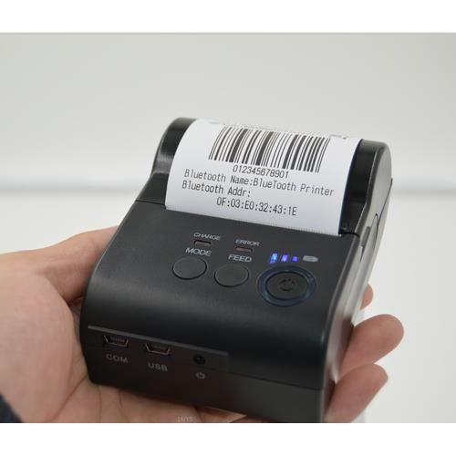mini 58mm bluetooth imprimante ticket thermique pour android ios informatique prix pas. Black Bedroom Furniture Sets. Home Design Ideas
