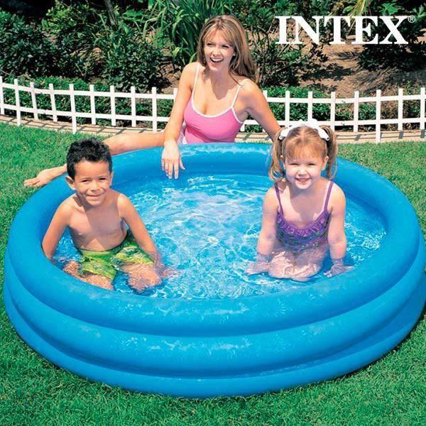Piscine gonflable pour enfants intex 147 cm achat vente pataugeoire - Piscine gonflable cdiscount ...
