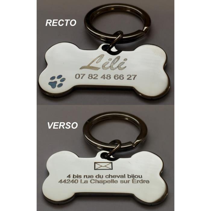 m daille pour chien gravure personnalis e achat vente identification m daille pour chien. Black Bedroom Furniture Sets. Home Design Ideas