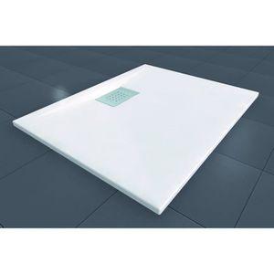 receveur douche 70 70 achat vente receveur douche 70 70 pas cher cdiscount. Black Bedroom Furniture Sets. Home Design Ideas