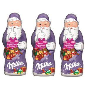 CONFISERIE DE CHOCOLAT Milka Père Noël chocolat Petillant 3 x 100g