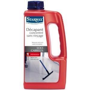 NETTOYAGE CUISINE Décapant concentré sans rinçage STARWAX 1 litre